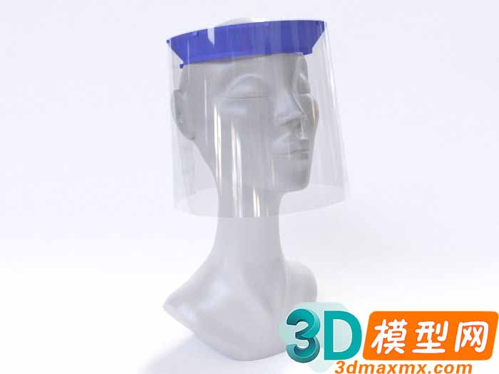 Face Shield for COVID-19 3D print插图