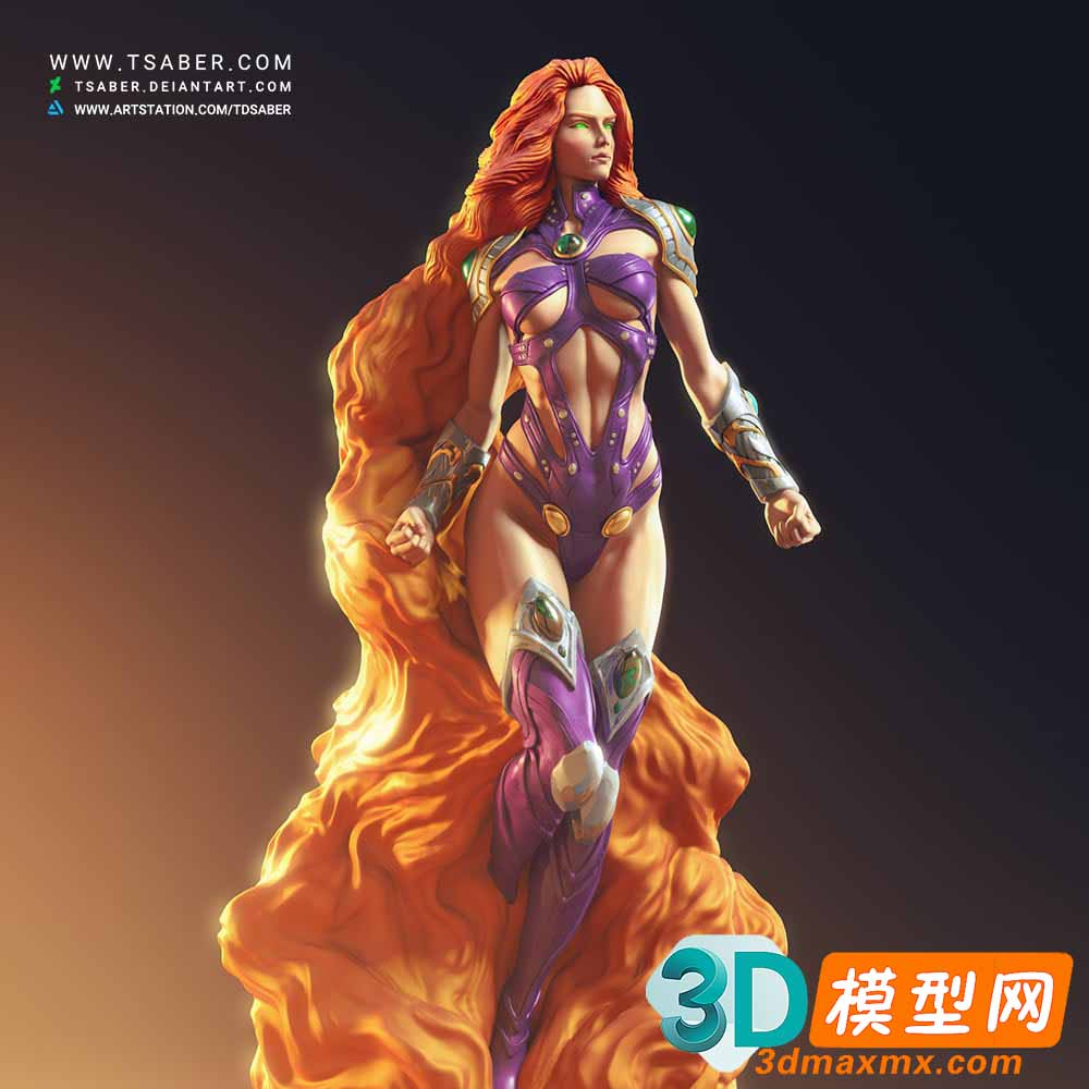 Starfire Statue – Teen Titans Collectibles插图