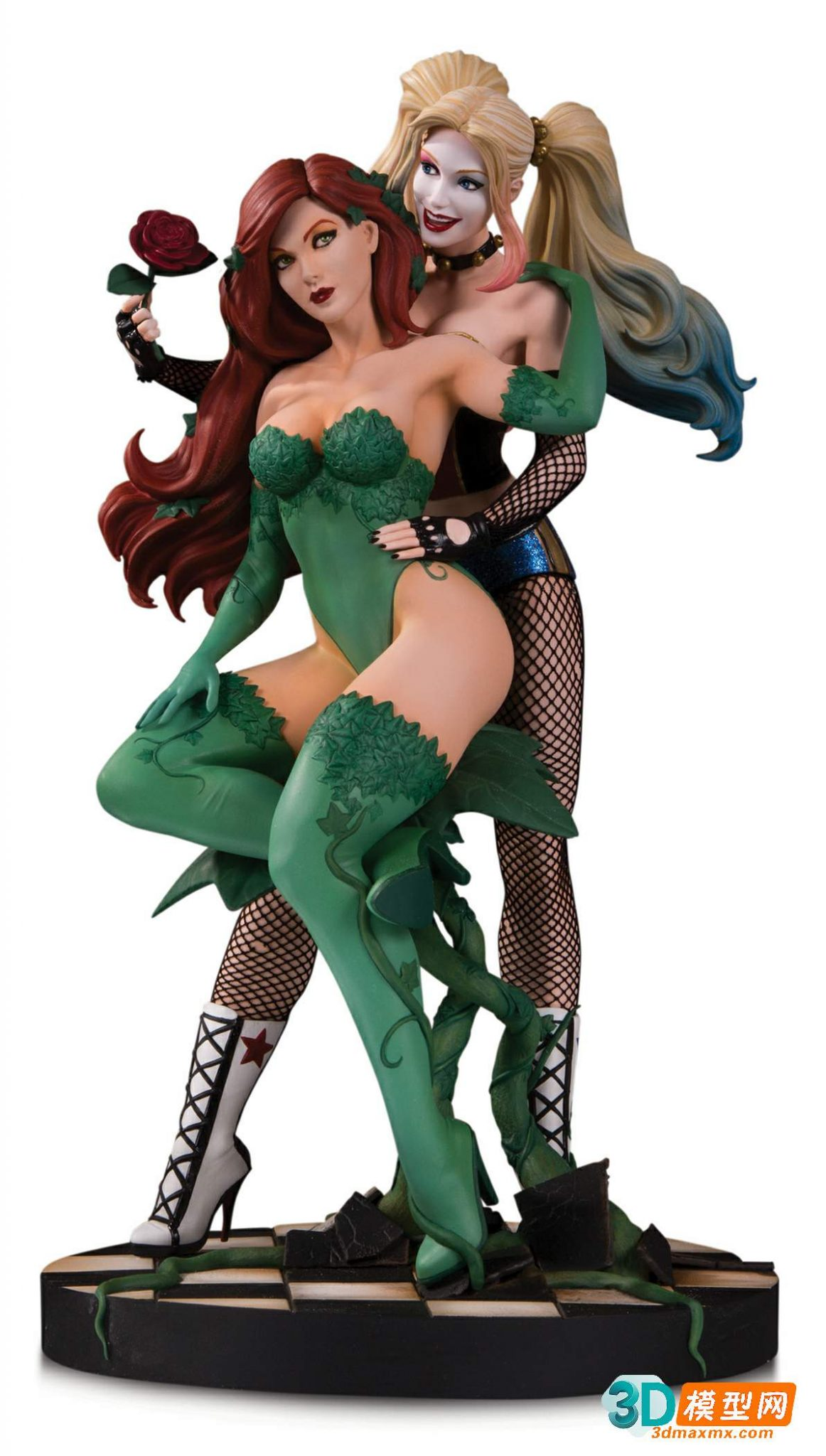 Poison Ivy and Harley Quinn插图