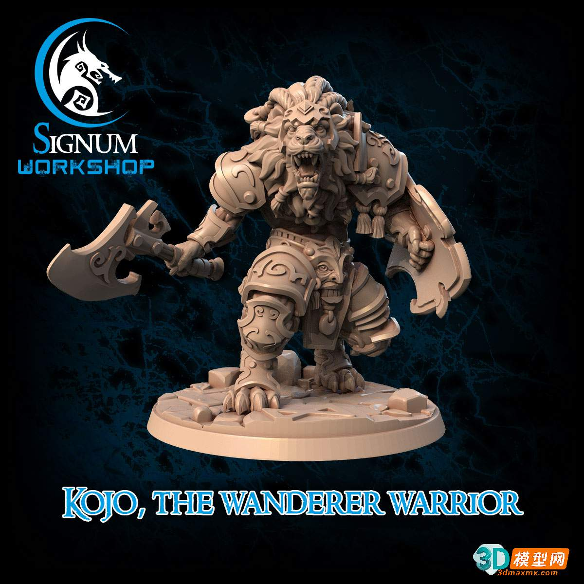 kojo the wanderer warrior + Pre supports插图