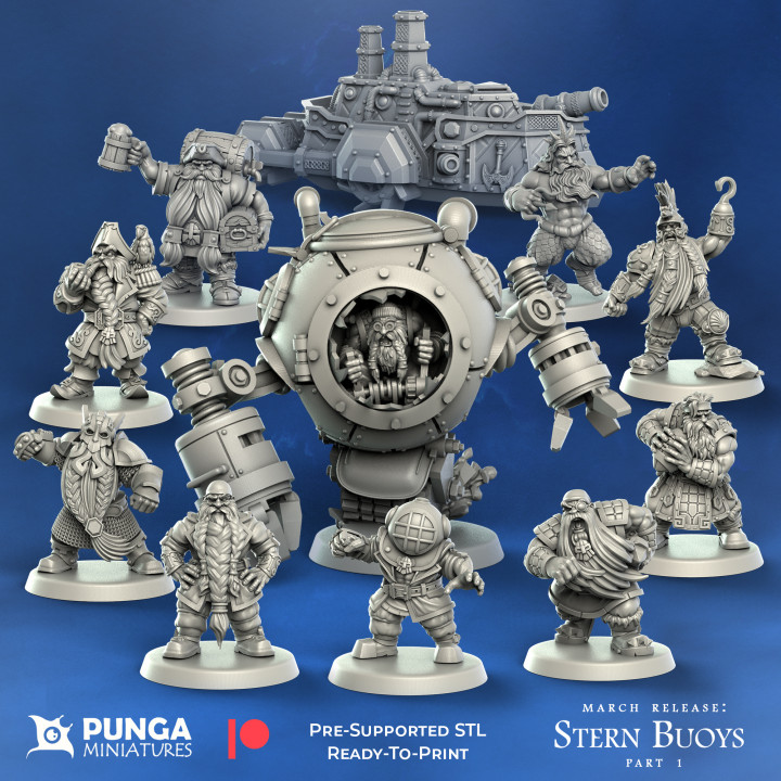 March Release – Stern Buoys插图